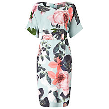 Buy Phase Eight Kim Rose Dress, Sky/Multi Online at johnlewis.com