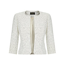 Buy Precis Petite Tweed Jacket, Cream/Multi Online at johnlewis.com