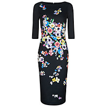 Buy Damsel in a dress Aromatic Dress, Black/Multi Online at johnlewis.com