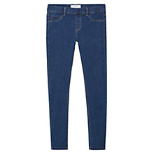 Buy Mango Piti Jeggings, Dark Blue Online at johnlewis.com