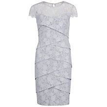 Buy Gina Bacconi Stretch Lace Dress, Silver Online at johnlewis.com