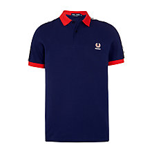 Buy Fred Perry France Polo Shirt, French Navy Online at johnlewis.com