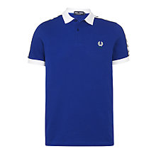 Buy Fred Perry Italy Polo Shirt, Cobalt Online at johnlewis.com