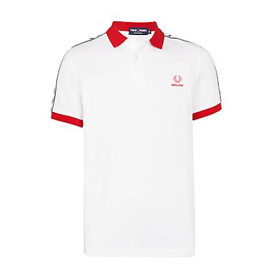 Fred Perry England Polo Shirt White