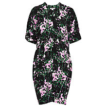 Buy Whistles Freesia Print Frances Dress, Black/Multi Online at johnlewis.com
