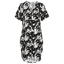 Buy Whistles Suki Floral Print Hannah Dress, Black/Multi Online at johnlewis.com