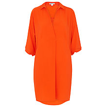 Buy Whistles Lola Dress, Orange Online at johnlewis.com