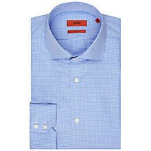 Buy HUGO by Hugo Boss Gordon Shirt, Blue Online at johnlewis.com