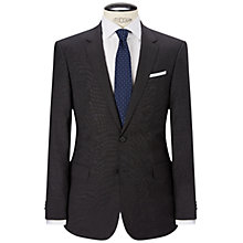 Buy HUGO by Hugo Boss Genius Fil a Fil Slim Fit Suit, Charcoal Online at johnlewis.com
