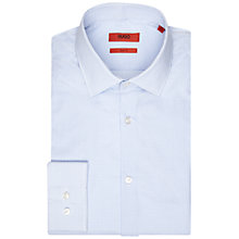 Buy HUGO by Hugo Boss Jenno Geo Shirt, Light Blue Online at johnlewis.com