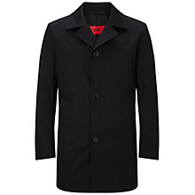 Buy HUGO by Hugo Boss Dais Coat, Black Online at johnlewis.com