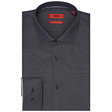 Buy HUGO by Hugo Boss Joseff Shirt, Navy Online at johnlewis.com