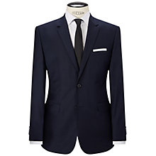 Buy HUGO by Hugo Boss Keys Houndstooth Regular Fit Blazer, Dark Blue Online at johnlewis.com
