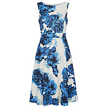 Buy Fenn Wright Manson Kandinsky Dress, Ivory/Blue Online at johnlewis.com