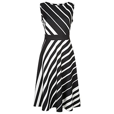 Fenn Wright Manson Braque Dress, Black/Ivory