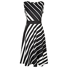 Buy Fenn Wright Manson Braque Dress, Black/Ivory Online at johnlewis.com
