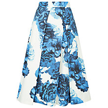 Buy Fenn Wright Manson Floral Kandinksy Skirt, Ivory/Blue Online at johnlewis.com