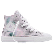 Buy Converse Children's Chuck Taylor All Star Core Hi-Top Trainers, Purple Online at johnlewis.com