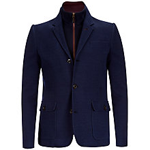 Buy Ted Baker Marimba Two in One Jacket, Navy Online at johnlewis.com