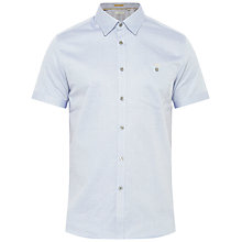 Buy Ted Baker Beachee Short Sleeve Oxford Shirt Online at johnlewis.com