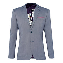 Buy Ted Baker Hearsay Mini Design Suit Jacket, Blue Online at johnlewis.com