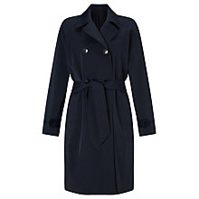 Buy Samsoe & Samsoe Trench Coat, Total Eclipse Online at johnlewis.com