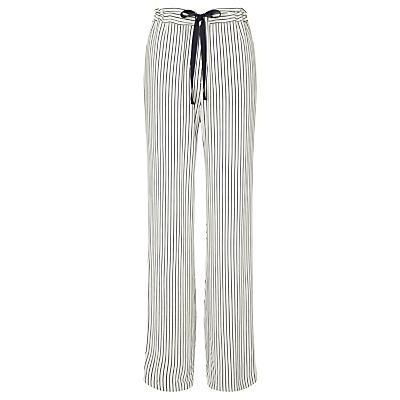 Samsoe & Samsoe Tuersen Wide Leg Trousers, Line Blue