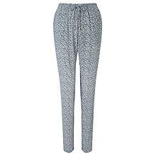 Buy Harris Wilson Nicolas Ditsy Splash Trousers, Navy Online at johnlewis.com