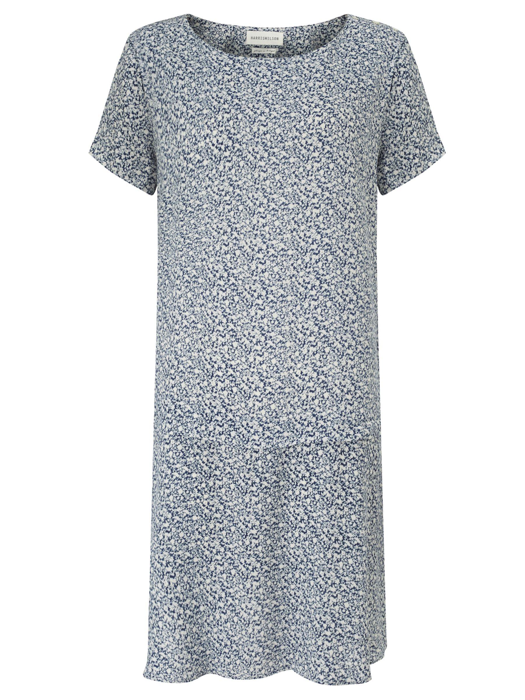 Harris wilson Harris Wilson Nickel Ditsy Splash Print Dress, Navy