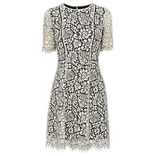 Buy Coast Monica Lace Dress, Monochrome Online at johnlewis.com