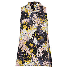 Buy Whistles Wild Floral Roll Neck Top, Multi Online at johnlewis.com