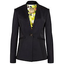 Buy Ted Baker Kiia Ottoman Jacket, Black Online at johnlewis.com