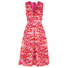 Buy Whistles Organza Dress, Pink Online at johnlewis.com