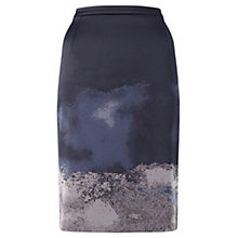 Buy Jigsaw Artisan Pencil Skirt, Multi Online at johnlewis.com