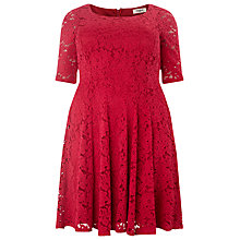 Buy Studio 8 Viola Lace Dress, Raspberry Online at johnlewis.com