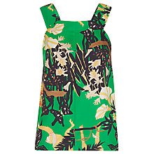 Buy Whistles Lilias Jungle Top, Multi Online at johnlewis.com
