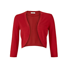 Buy Hobbs Carrie Bolero, Red Online at johnlewis.com