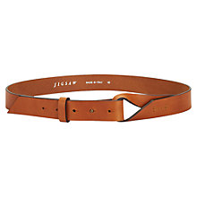 Buy Jigsaw Twist Knot Leather Belt Online at johnlewis.com