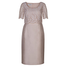 Buy Hobbs Livia Dress, Sable Online at johnlewis.com