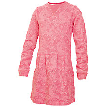 Buy Fat Face Girls' Doodle Sweater Dress Online at johnlewis.com