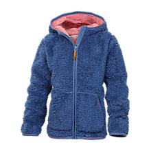 Buy Fat Face Girls' Eva Zip Through Fleece, Blue Online at johnlewis.com