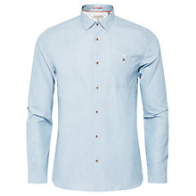 Buy Ted Baker Gomyway Textured Cotton Shirt Online at johnlewis.com
