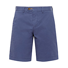 Buy Ted Baker Corsho Chino Shorts, Dark Blue Online at johnlewis.com