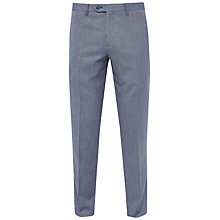 Buy Ted Baker Heartro Mini Design Trousers, Blue Online at johnlewis.com