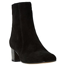 Buy Dune Black Orro Suede Ankle Boots Online at johnlewis.com