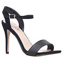 Buy Miss KG Imogen 2 High Stiletto Heeled Sandals, Black Online at johnlewis.com