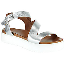 Buy Kin by John Lewis Kalli Flatform Sandals, Silver Online at johnlewis.com
