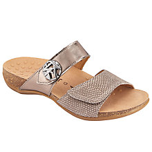 Buy Gabor Shani Wide Double Strap Sandals Online at johnlewis.com