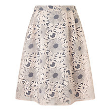 Buy Studio 8 Sabrina Organza Skirt, Blush Online at johnlewis.com