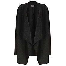 Buy Phase Eight Brogan Waterfall Jacket, Dark Charcoal Online at johnlewis.com